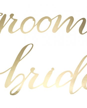 Chairsign_Bride-Groom_gold_detail